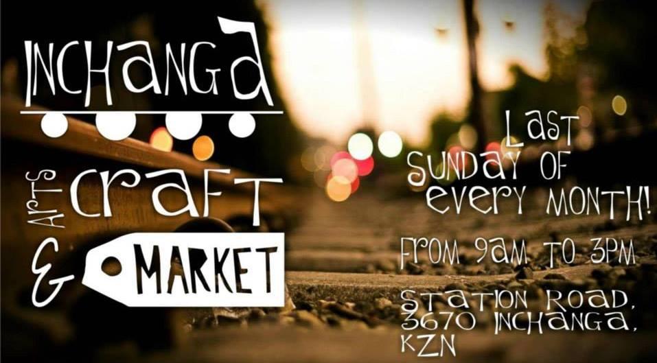 Inchanga Craft Market at the Inchanga Station.