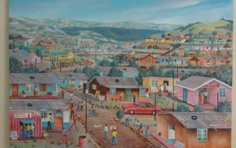 Siyabonga Sikosana. Artist – painter