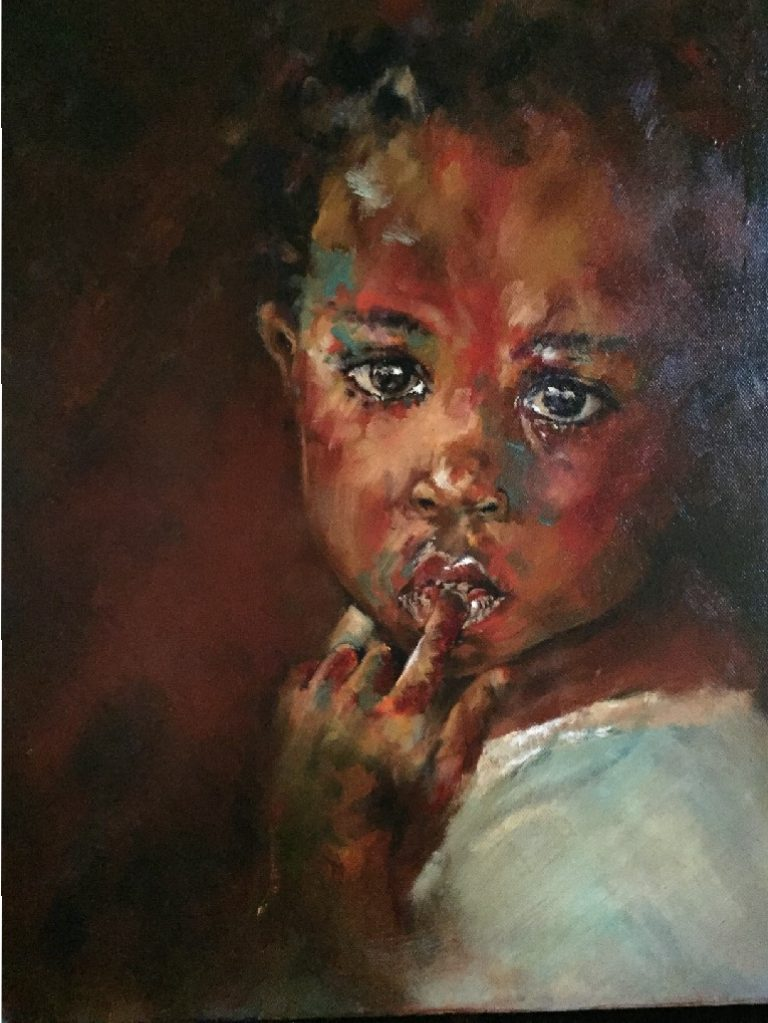 Amanda Leggat. Artist- painter