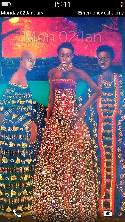 Sfiso Ka Mkame. Artist- painter & textile