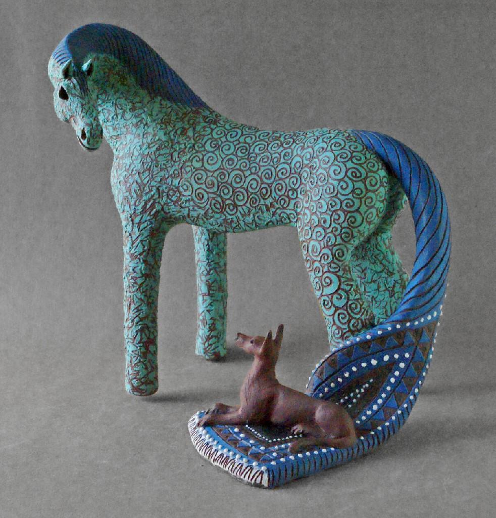 Carol Hayward Fell. Artist- Ceramics / Sculptor