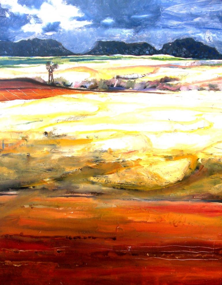 Peter Croxon. Artist- painter