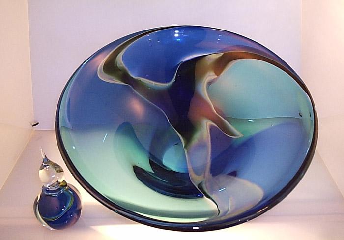 African Blown Glass. Guido van Besouw. Artist