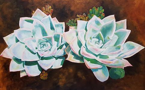 Theresa van der Vyver. Artist- painter