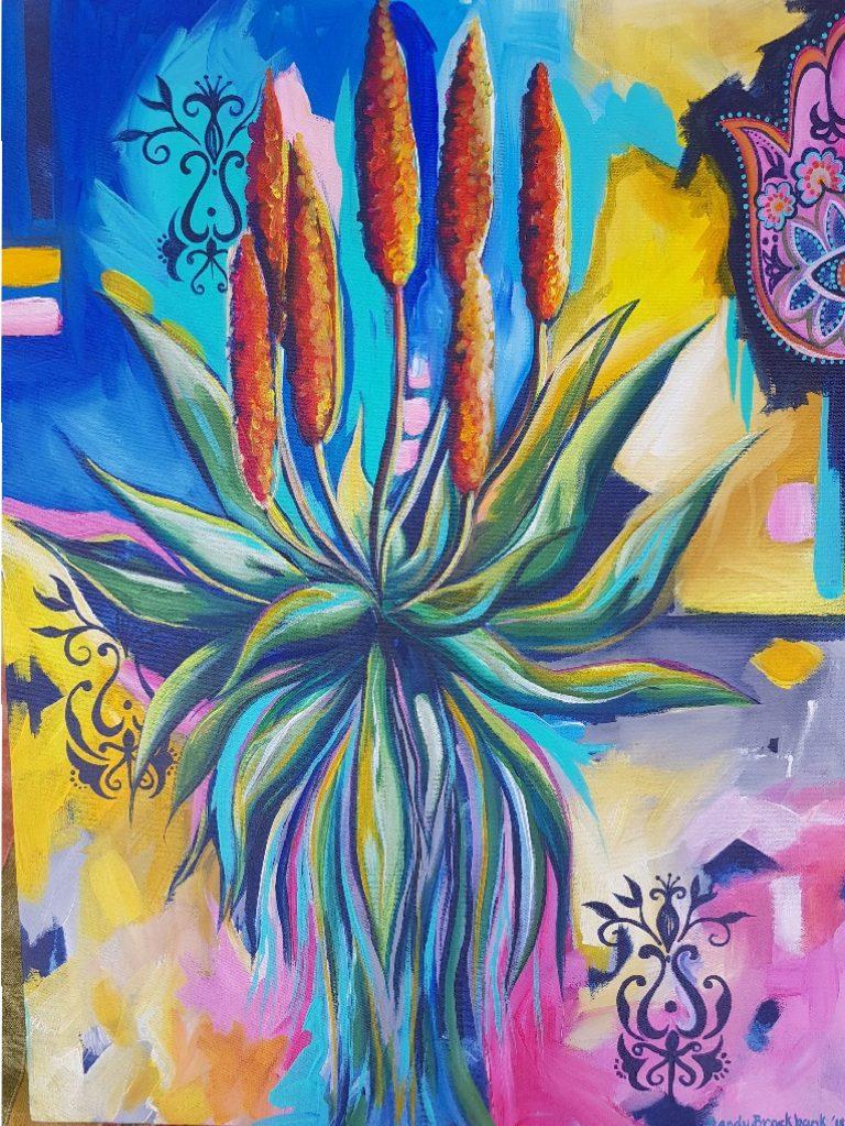 Mandy Brockbank. Artist-painter