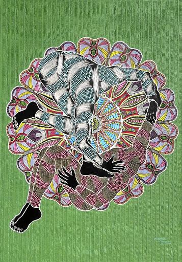 Sthenjwa Luthuli and Luthuli Art.