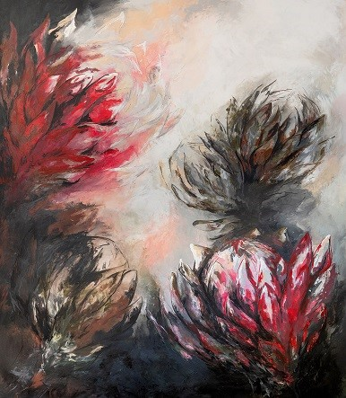 Kelly Tuck. Artist- Painter