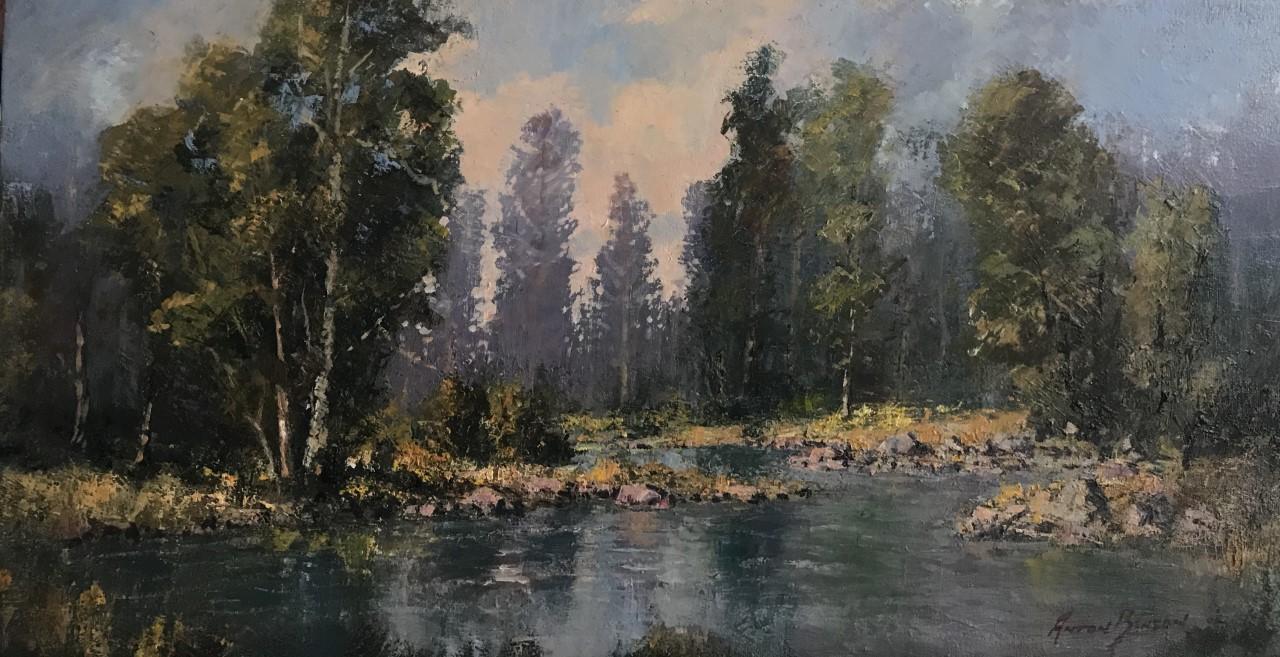 Anton Benzon- Artist. Painter